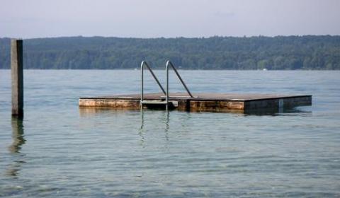 am Ostufer des Starnberger Sees