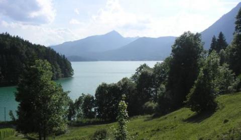 Abstieg vom Jochberg